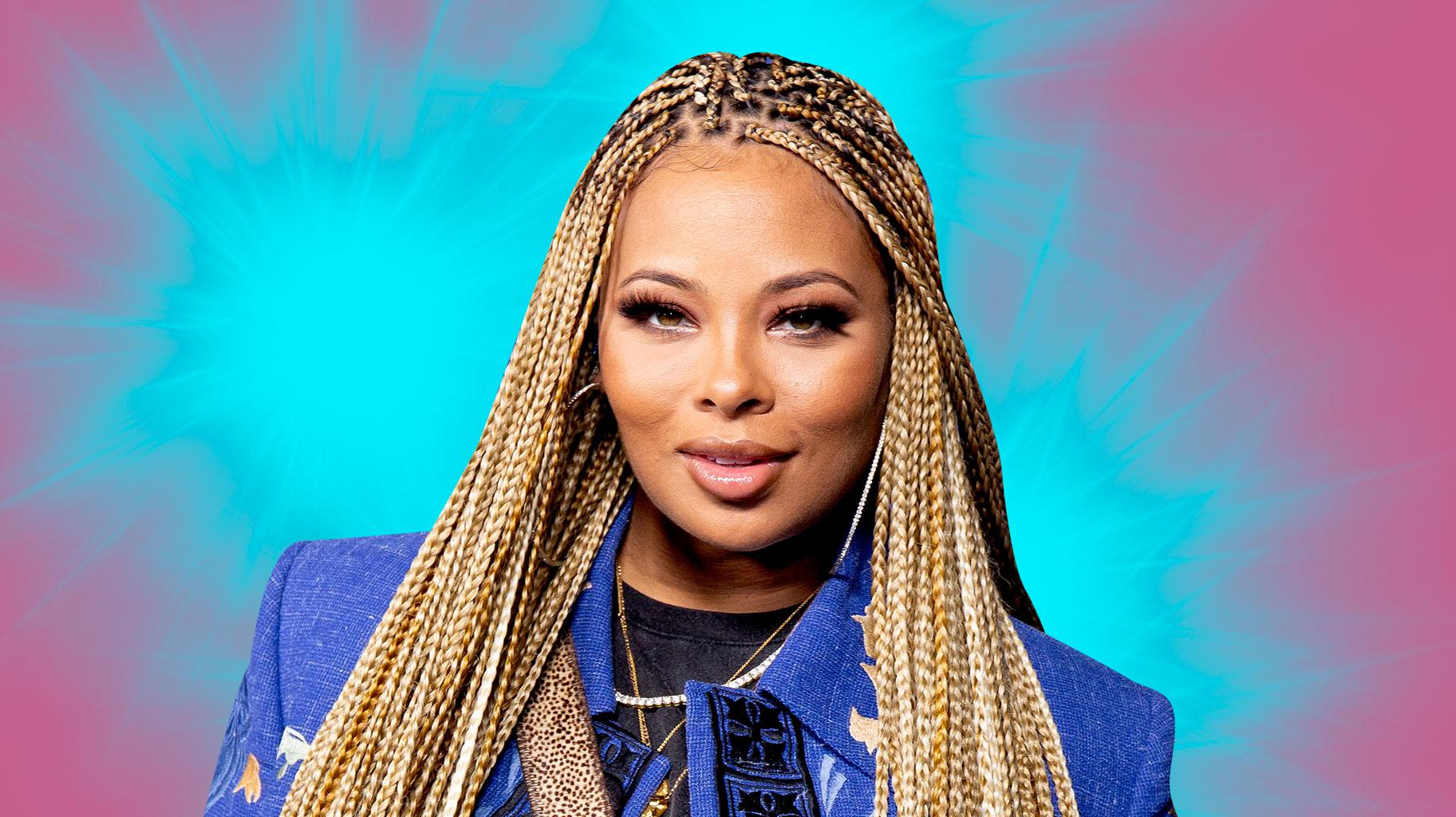 Eva Marcille Is Excited To Be A Part Of Rickey Smiley Morning Show