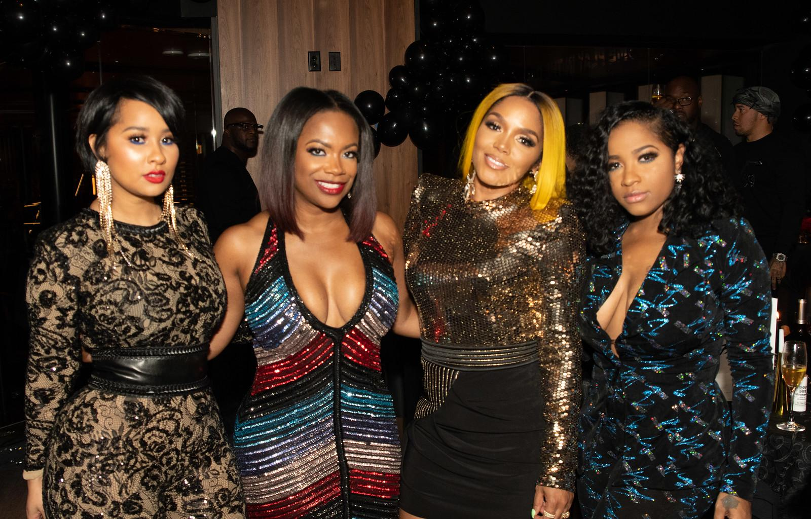 Rasheeda Frost And Toya Wright Share Pics From The New Year's Eve Party At The Frost Bistro