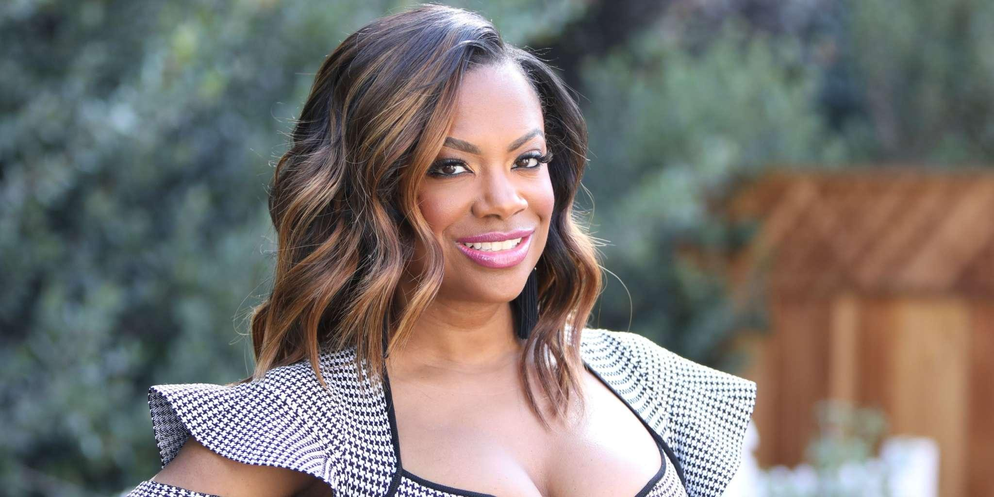 Kandi Burruss Looked Amazing At The WWHL And Tiny Harris Appreciated Her Look