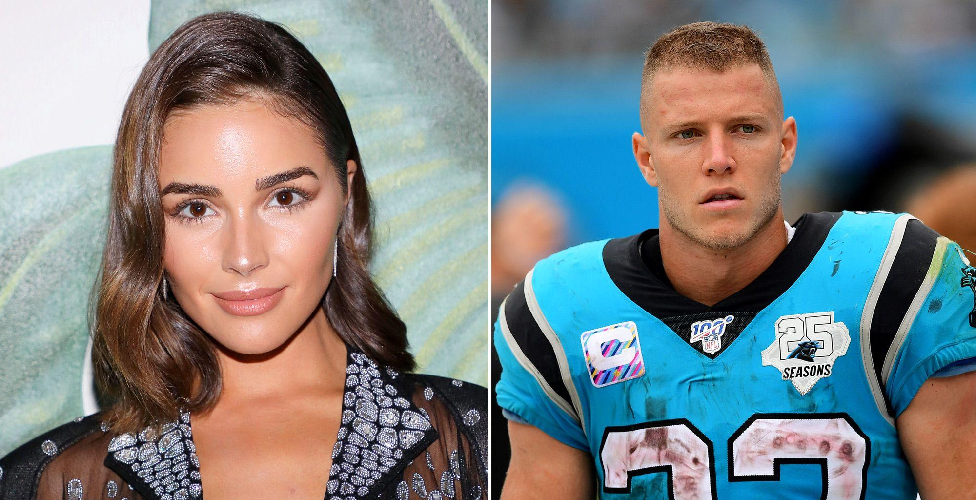 Olivia Culpo's Boyfriend Christian McCaffrey Flirts With Her After Sharing Sultry Shot And It's Super Cute!