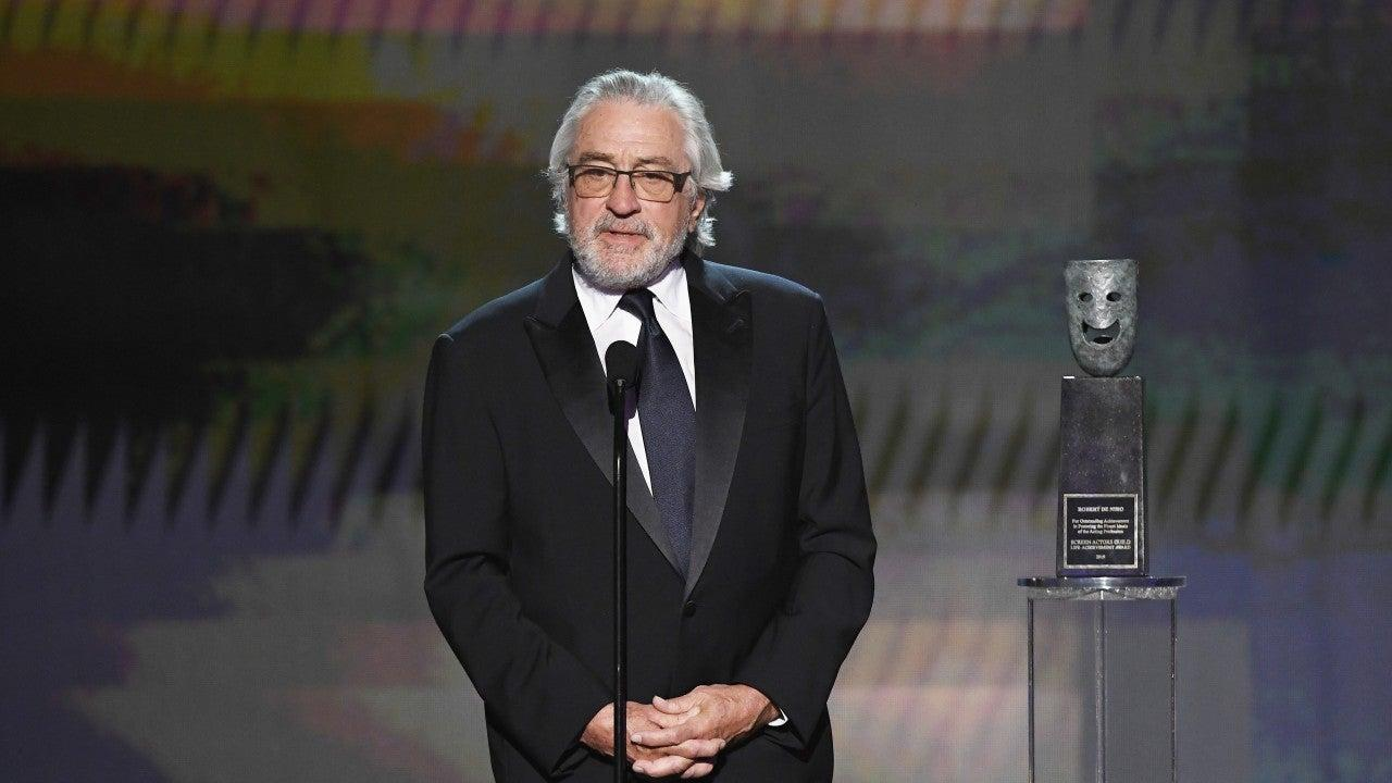 Robert De Niro Talks About The 'Deeply Concerning' Political Climate In Life Achievement Award Acceptance Speech At The SAG Awards!