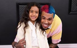 Chris Brown's Daughter Royalty Gets Her First 'Boo Boo' While Dancing Like Her Dad - See The Pics!