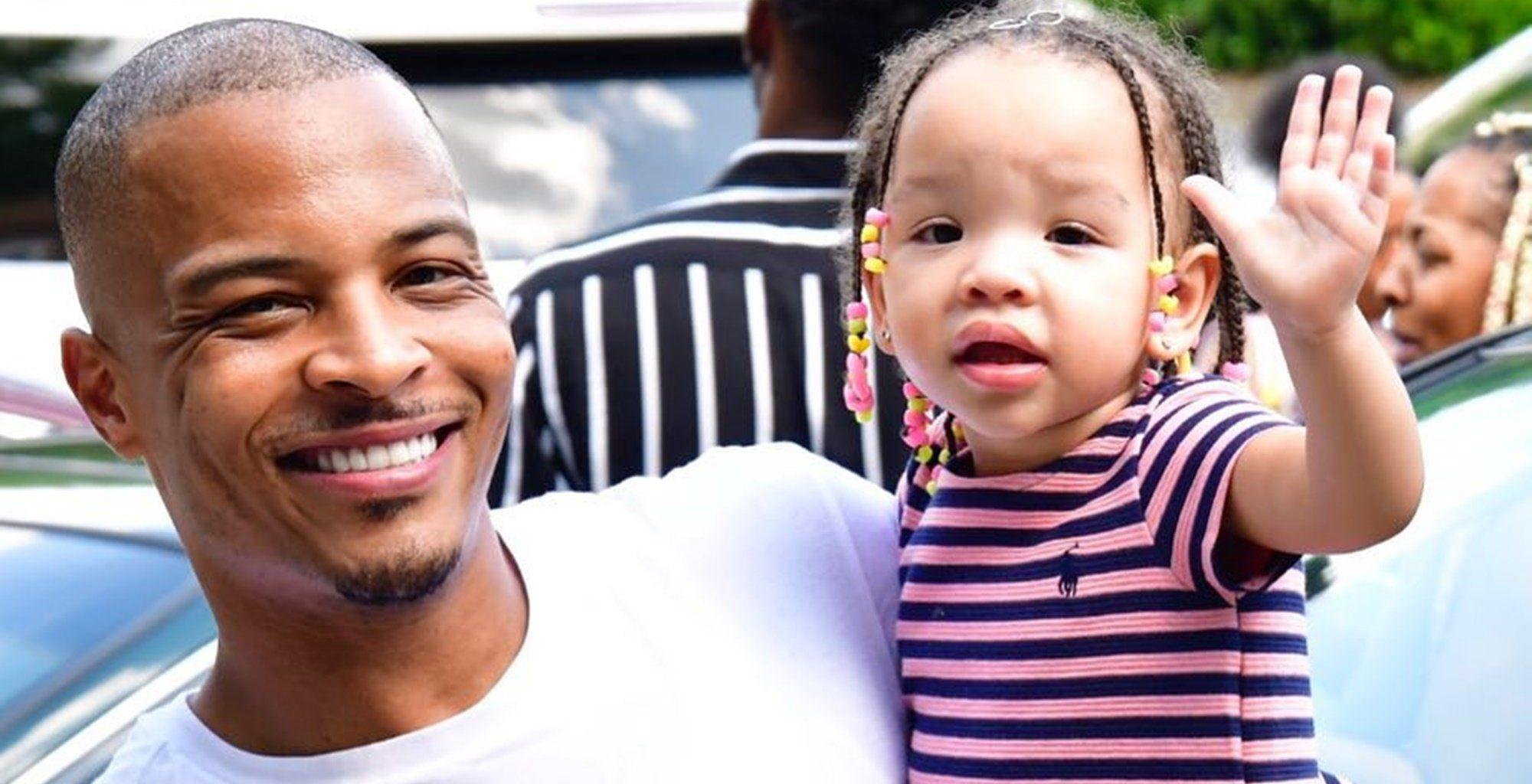 T.I. Shares The Sweetest Photo Of His Baby Girl, Heiress Harris And Has Fans In Awe