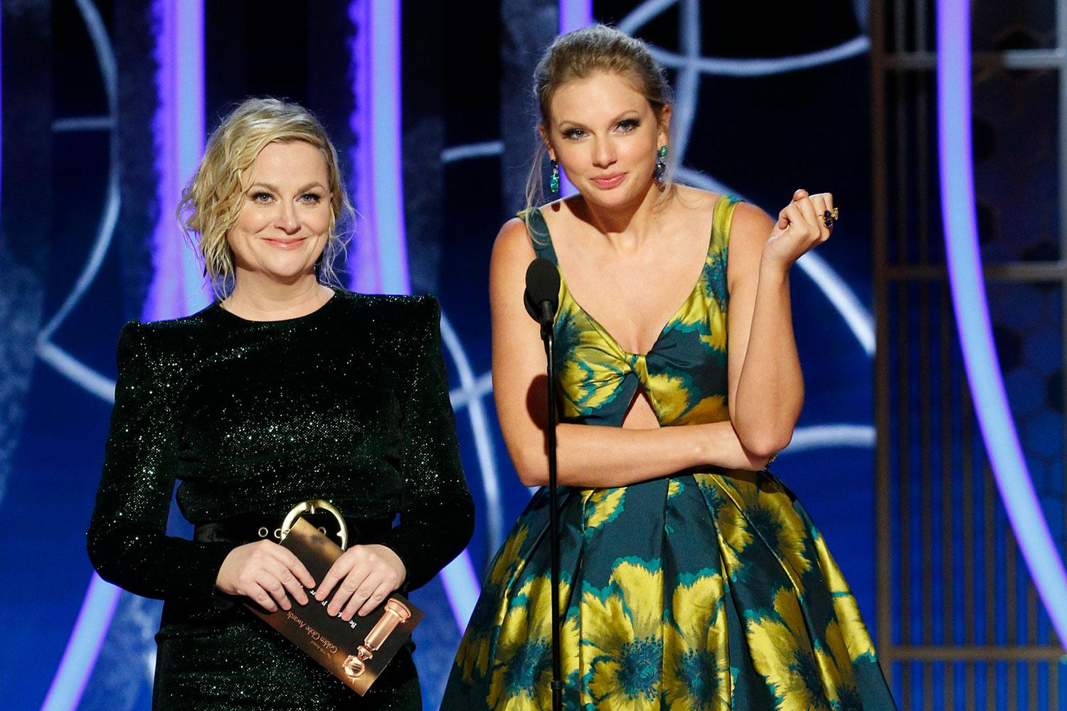 Taylor Swift And Amy Poehler Present At The Golden Globes Together Years After Explosive Feud!