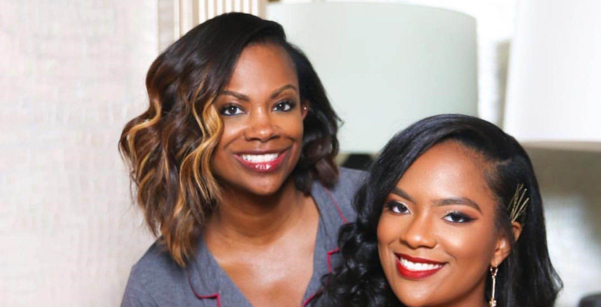 Kandi Burruss Shares A Throwback Pic Since She Was 8 Months Pregnant With Riley Burruss