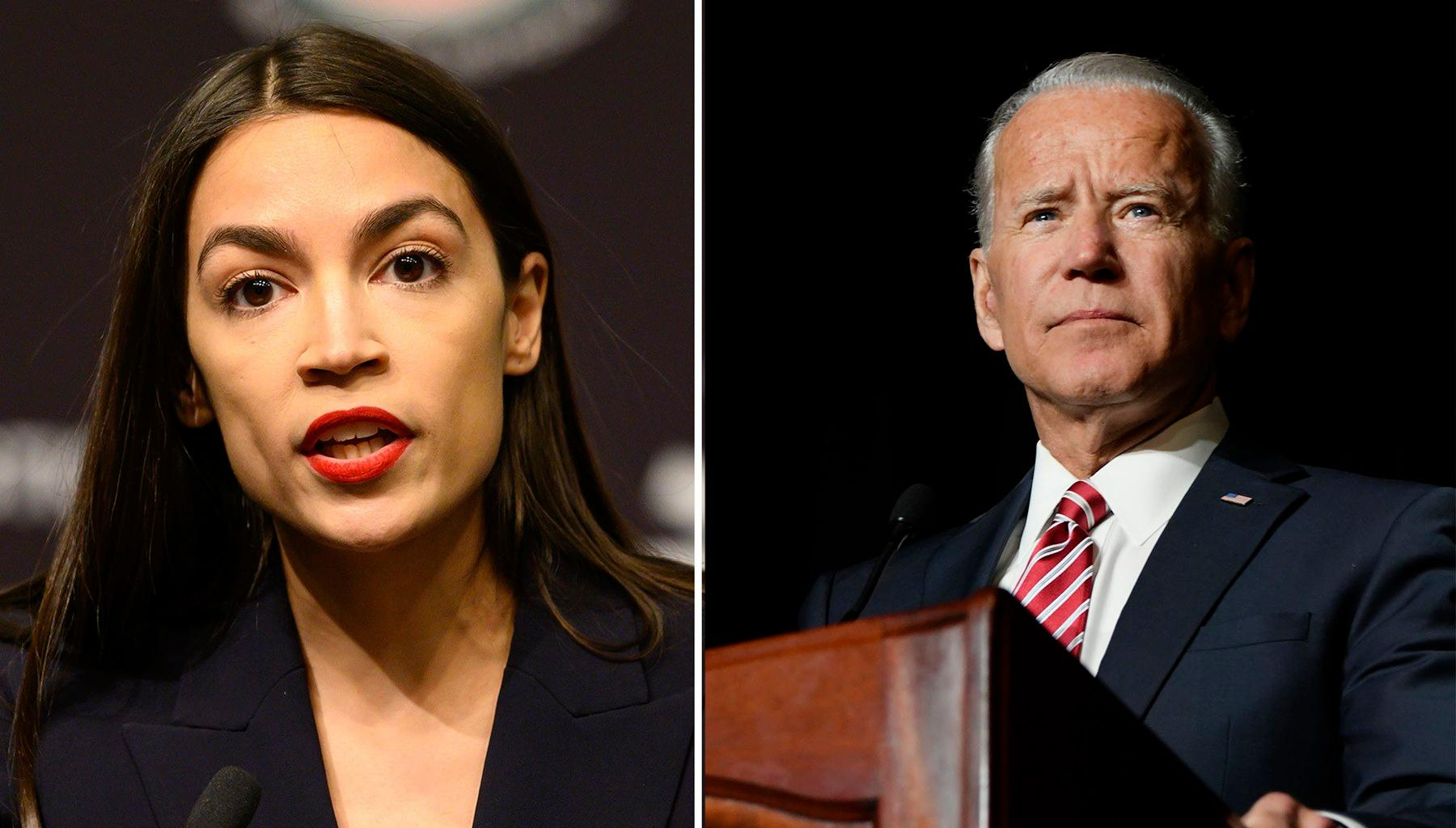 Joe Biden Offers An Olive Branch To Alexandria Ocasio-Cortez And Supporters Of The Bernie Sanders Wing In The Democratic Party -- He Wants To Focus On Beating Donald Trump