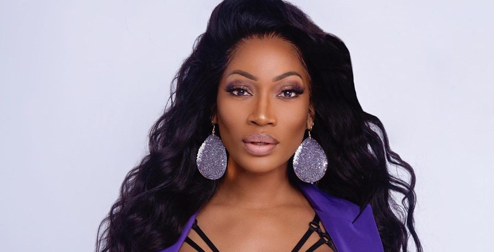 Erica Dixon Claps Back After Being Criticized For Sharing Photos Of Her Spectacular Platinum Blond Hair Color