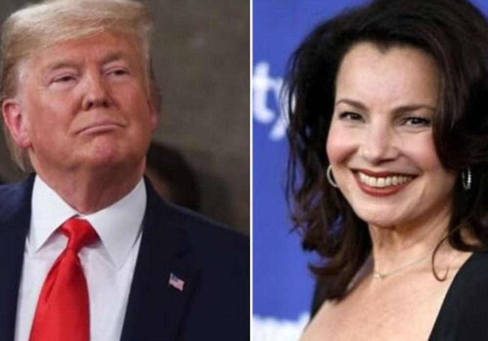 Fran Drescher Reveals President Trump Demanded A Script Change During His 1996 Appearance On The Nanny