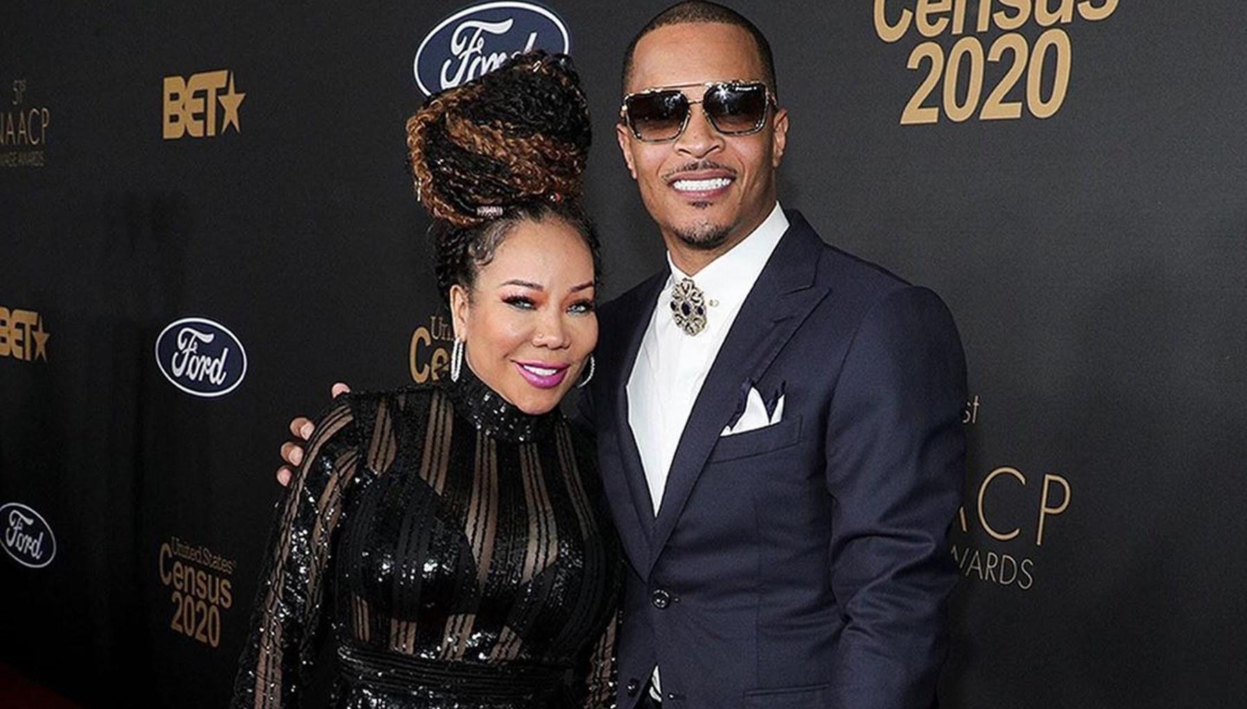 T.I. And His Wife, Tiny Harris, Are Blossoming In Love In New Video, But They Are No Match For This Pretty Superstar -- Rihanna Made Things Very Special