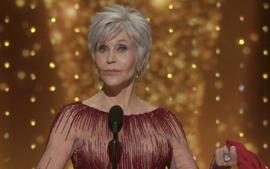Jane Fonda Recycles An Old Dress For This Year's Oscars After Giving Up Shopping