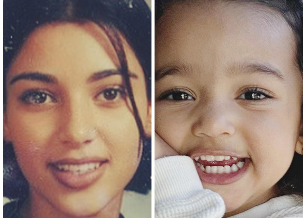 Kim Kardashian Posts  High School Throwback Photo And People Are Freaking Out — Chicago 'Chi Chi' West Is Her Twin!