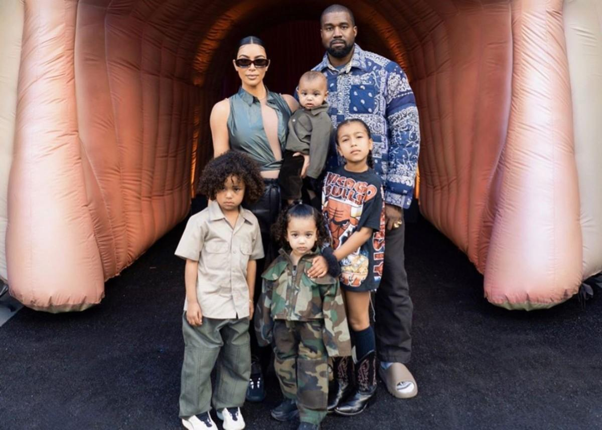 Kim Kardashian Shares Family Photos With Kanye West And The Kids From Stormi Webster's Birthday Party — See The Adorable Pictures