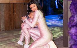 Kylie Jenner And Stormi Webster Wore Matching Saks Potts Outfits At Epic Stormi 2.0 Birthday Party