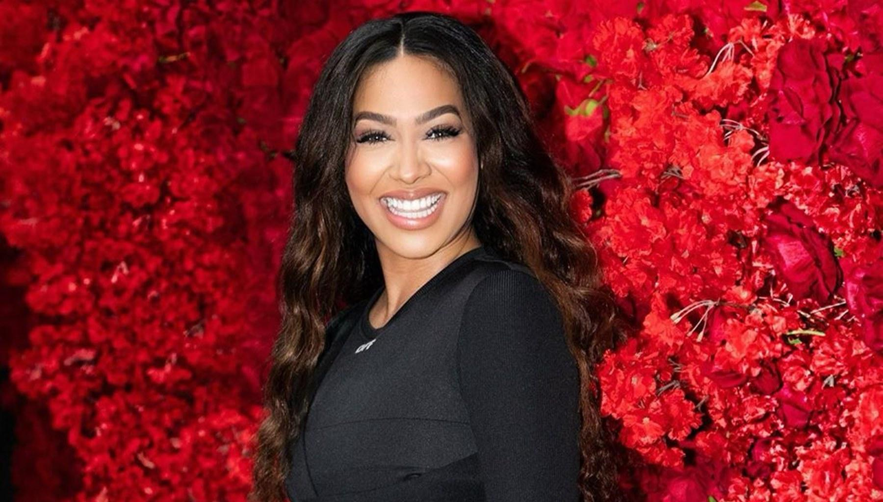 La La Anthony's Handsome Son Towers Over Her In New Gorgeous Red Carpet Photos