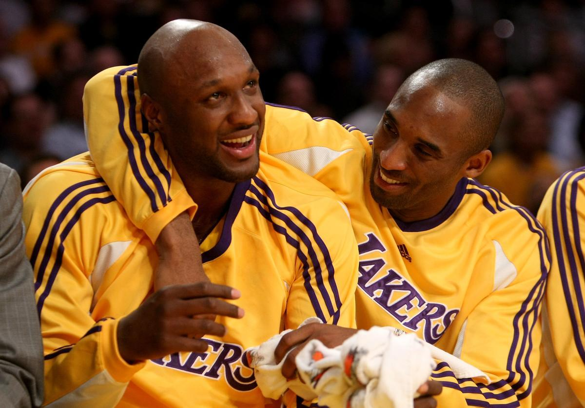 Lamar Odom Leaning On Fiancée Sabrina Parr As He Mourns Kobe Bryant's Passing