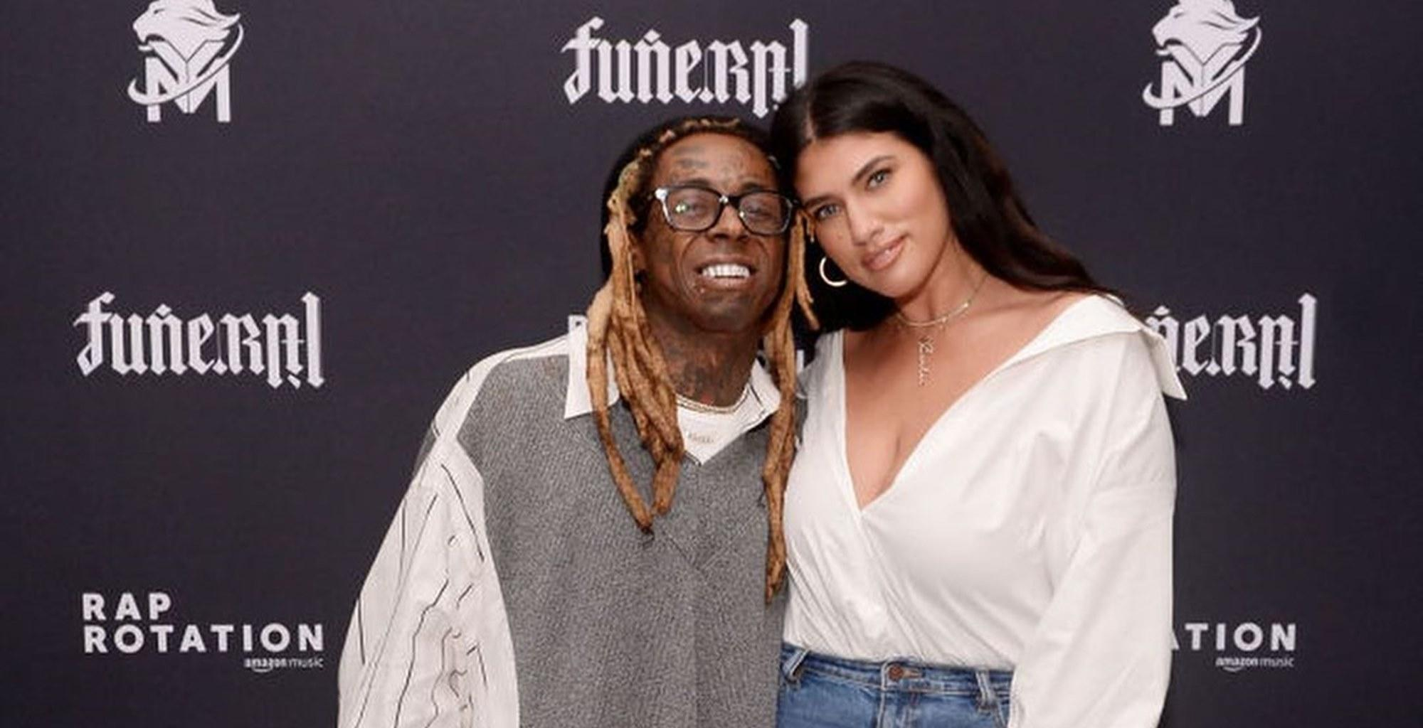 Lil Wayne And Fiancée La'Tecia Thomas Debut Matching Explosive Tattoos In New Lovey-Dovey Photos Ahead Of Wedding