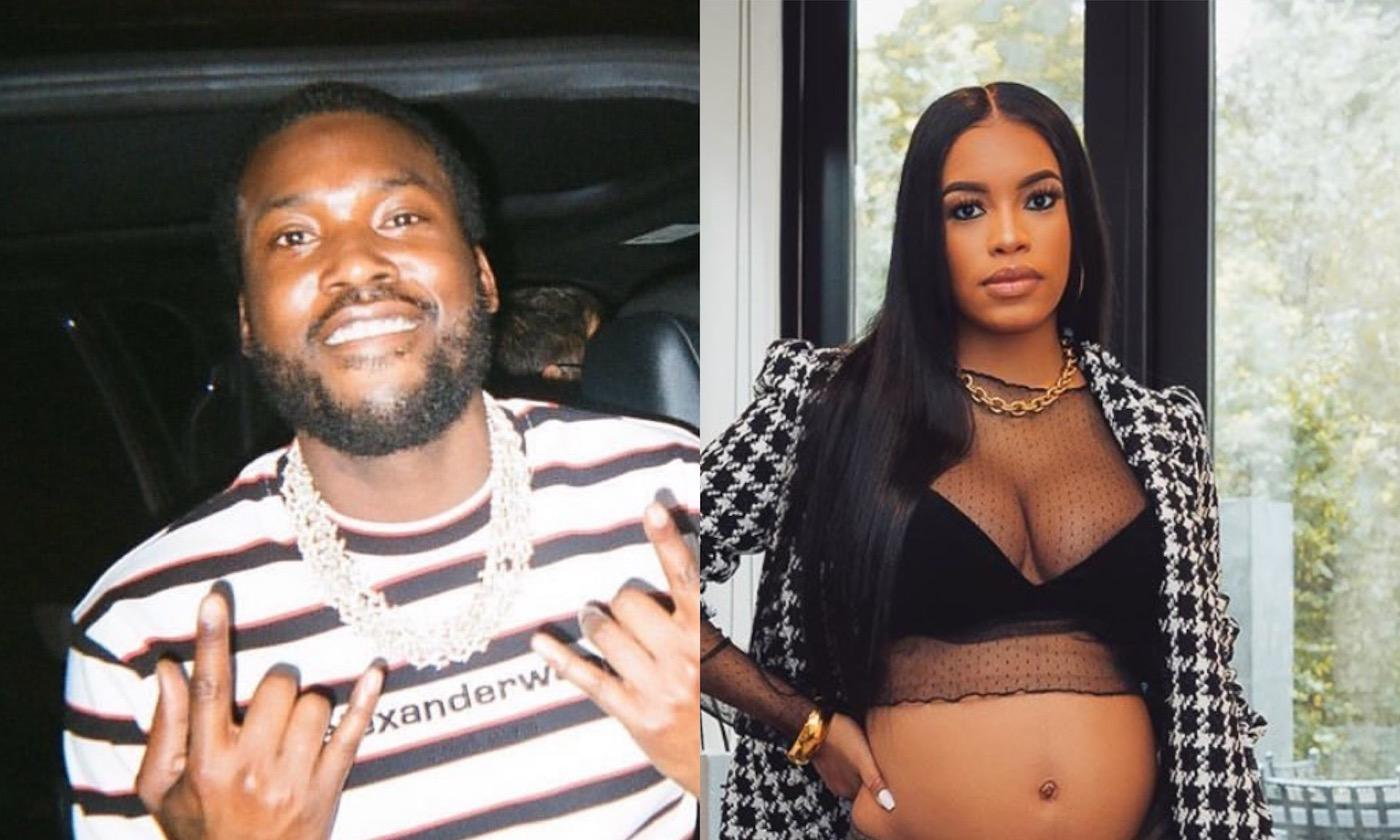Meek Mill And His Pregnant GF Milan Harris Make Their Relationship Instagram Official With Sweet Post!