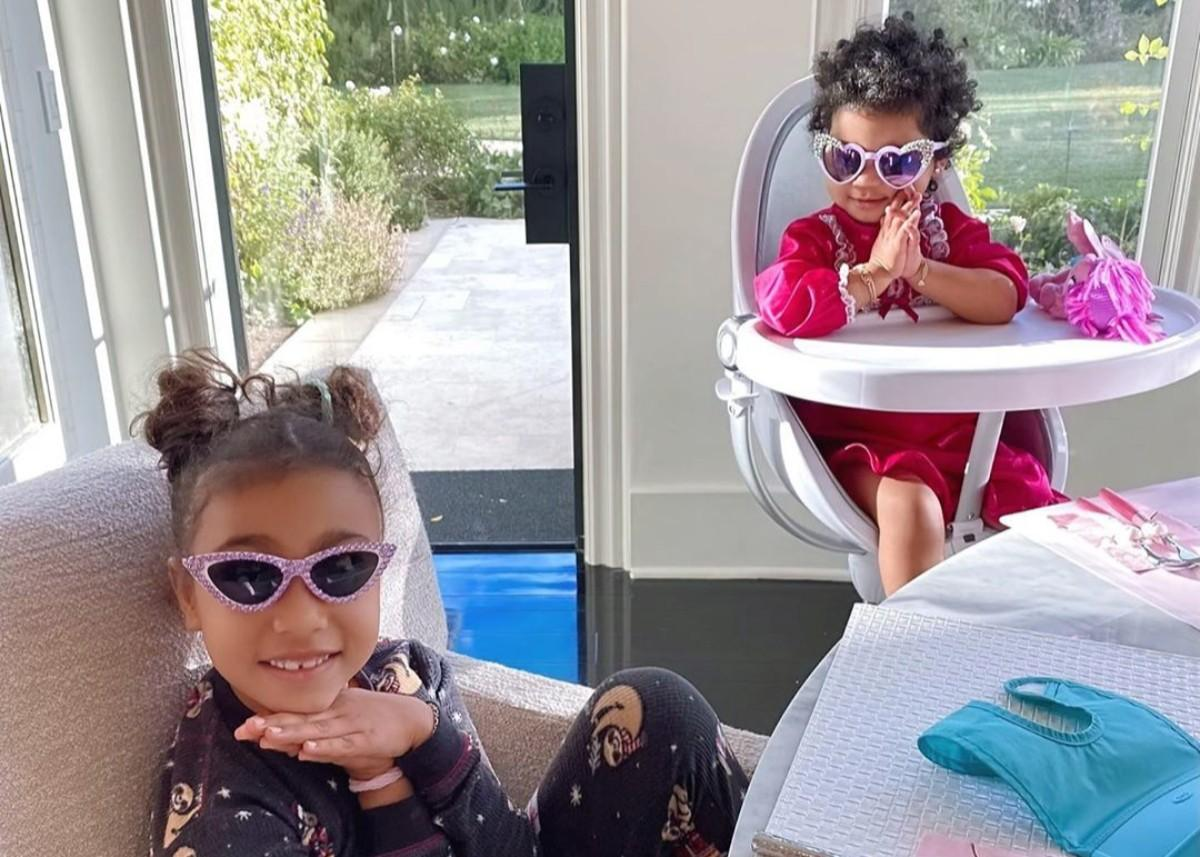 Khloe Kardashian Shares Photos Of North West And True Thompson With Prayer Hands Saying Grace