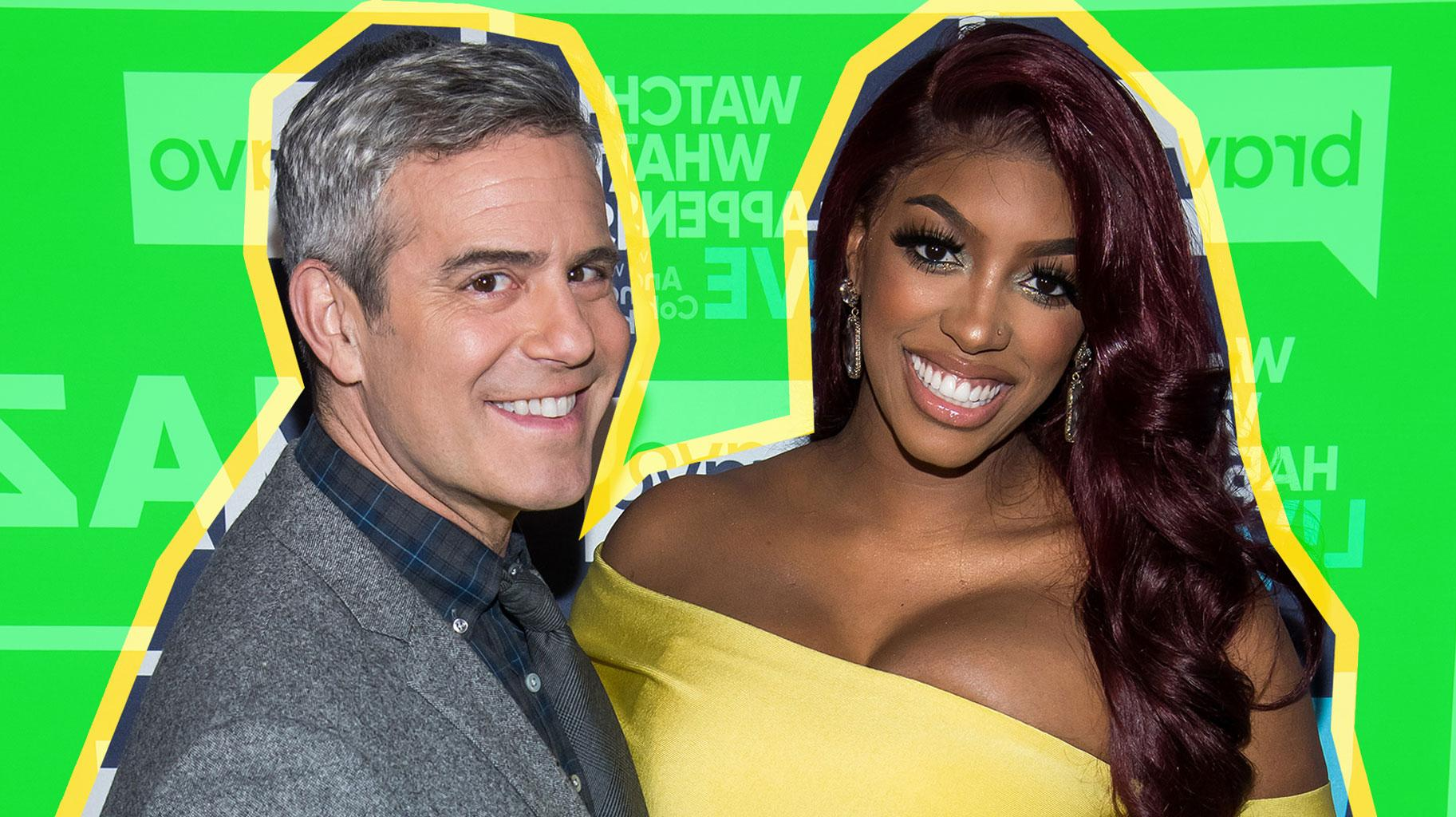 RHOA: Porsha Williams Speaks On Andy Cohen Revealing That She Was Almost Fired From The Show -- Shades Kordell Stewart