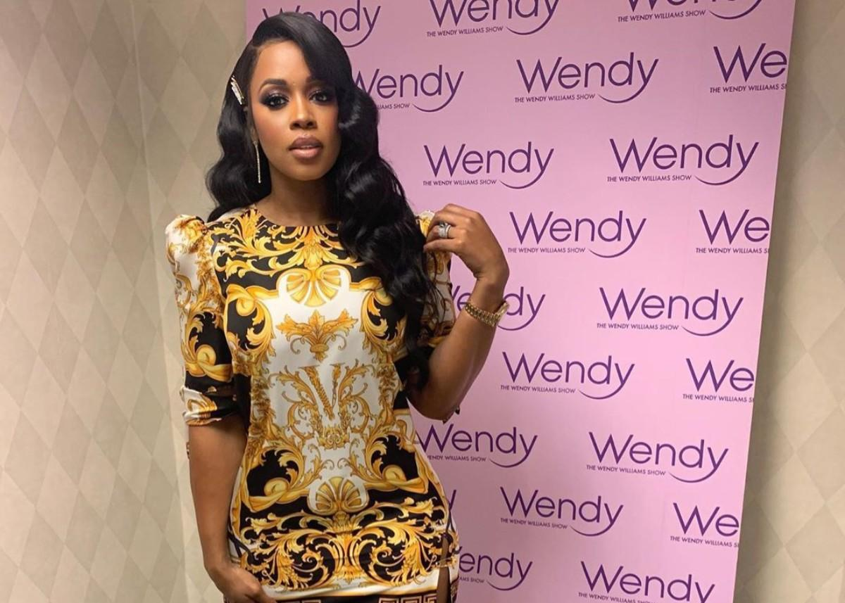 Remy Ma Stuns In Versace On The Wendy Williams Show