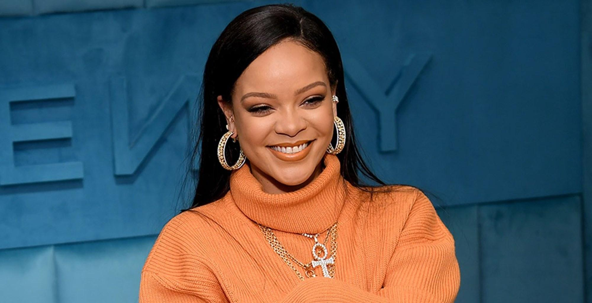 Rihanna Twerks In Mini Skirt While Blowing The Candles Of Her Massive Birthday Cake In Fun-Filled Video -- Fashion Mogul Is Not Missing Her Exes
