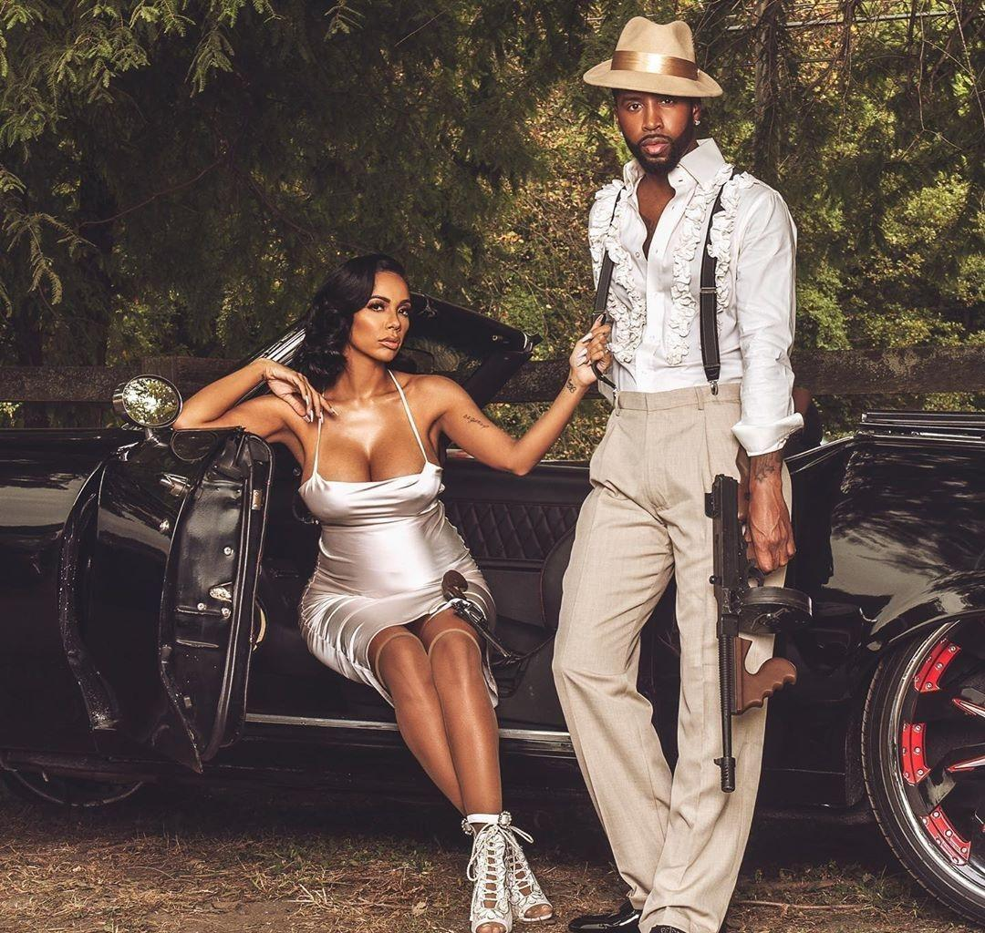 Erica Mena Shared An Emotional Love Message For Her Husband, Safaree For Valentine's Day