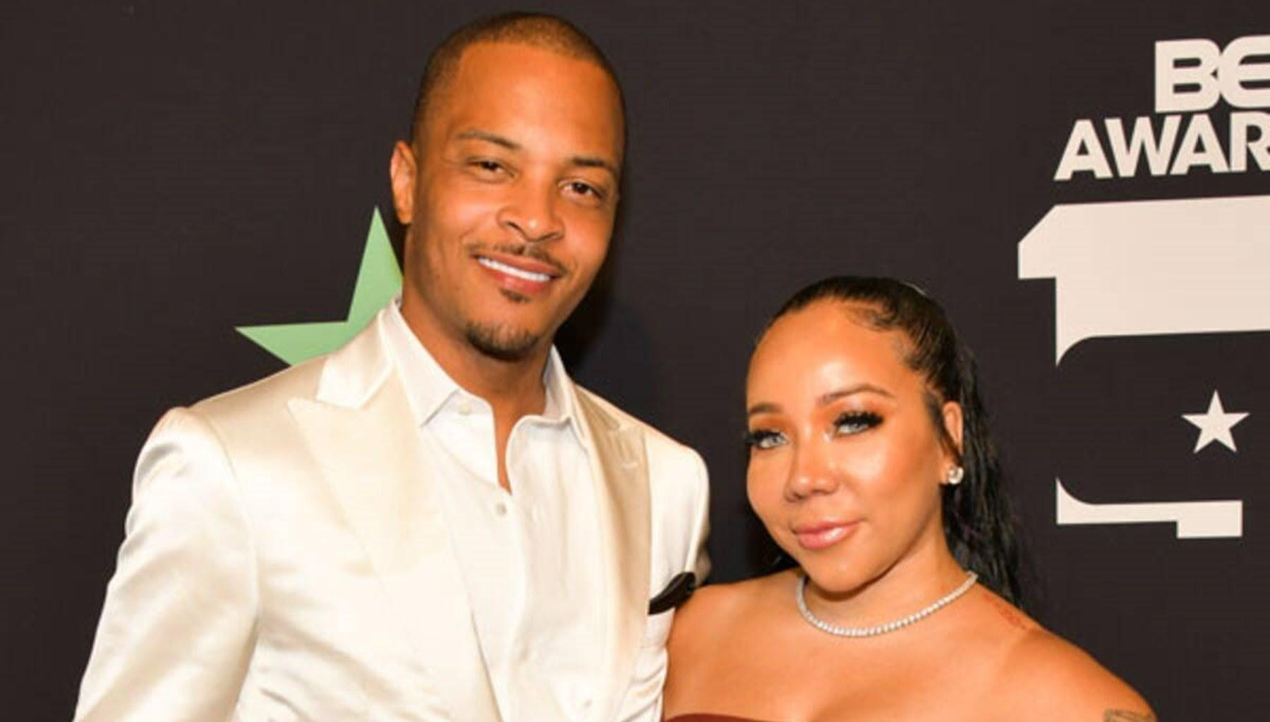 T.I. Confronts Tiny Harris Over This Swagalicious Photo -- Xscape Singer Defends Herself