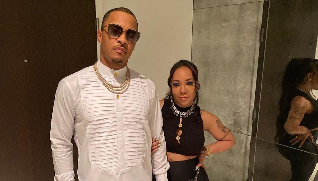 T.I. And Tiny Harris Enjoy A Modern, Yet Classical Love Story - See His Recent Post