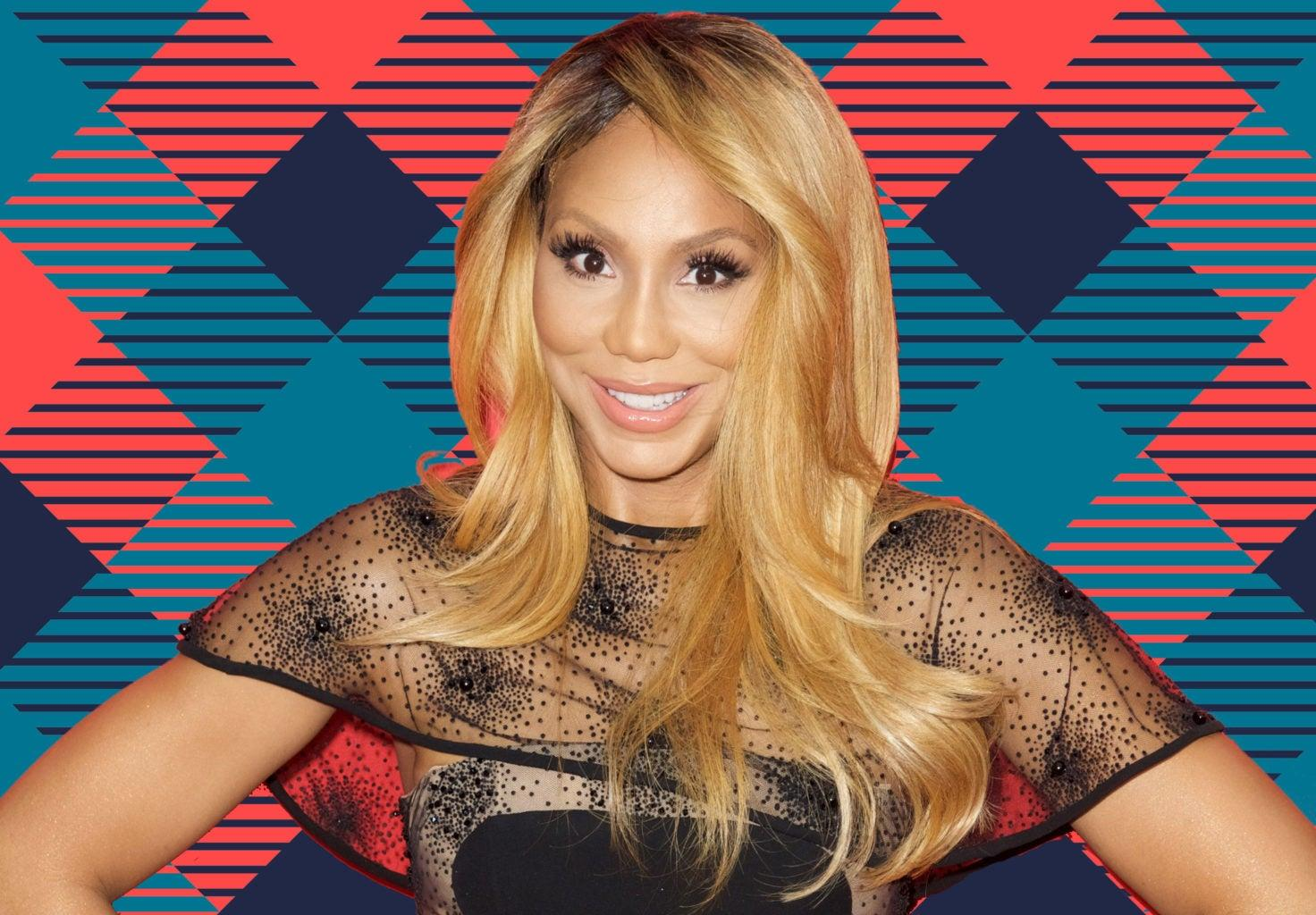 Tamar Braxton Shows Off Her Tiny Ponytail And Fans Cannot Stop Making Jokes