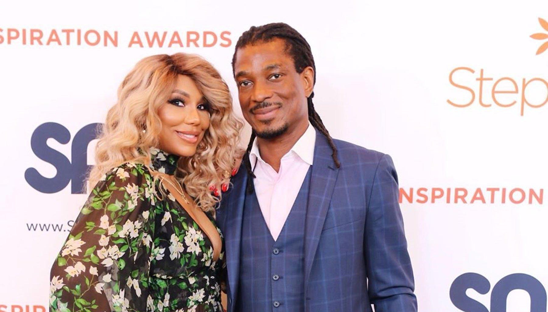 Tamar Braxton's BF, David Adefeso, Seems To Be Into Financial Coaching These Days