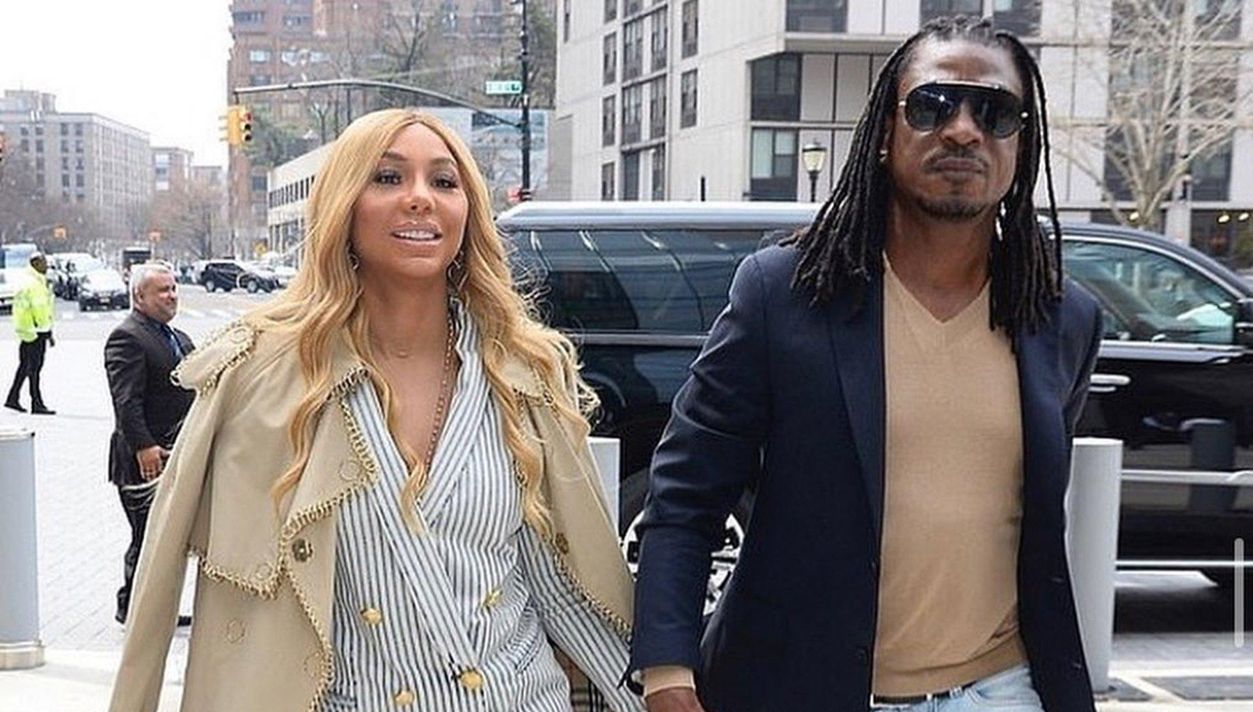 Tamar Braxton Calls David Adefeso Her 'Husband' And Fans Go Crazy With Excitement