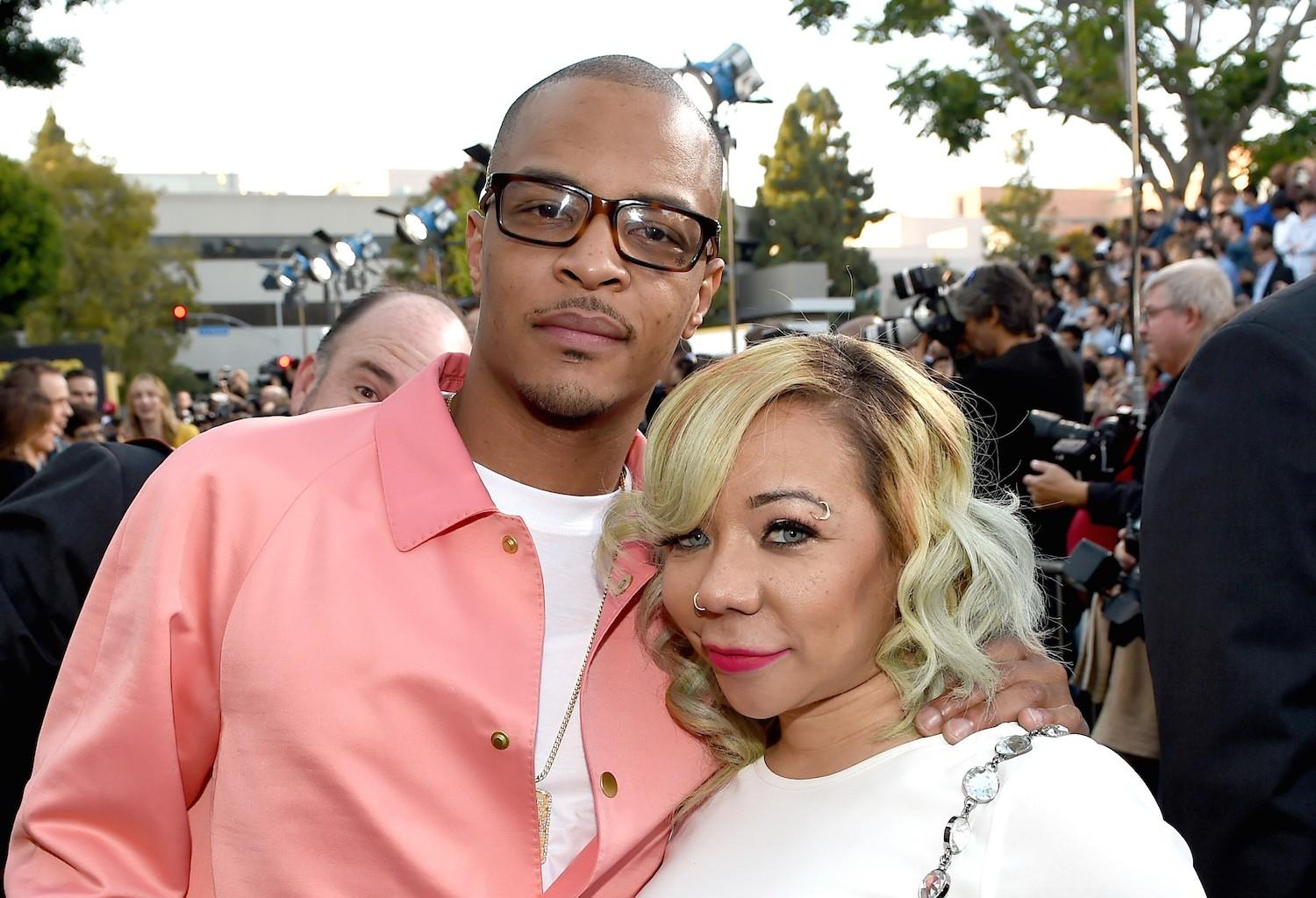 Tiny Harris Has A Special Kind Of Love With T.I. - See The Smile He Puts On Her Face