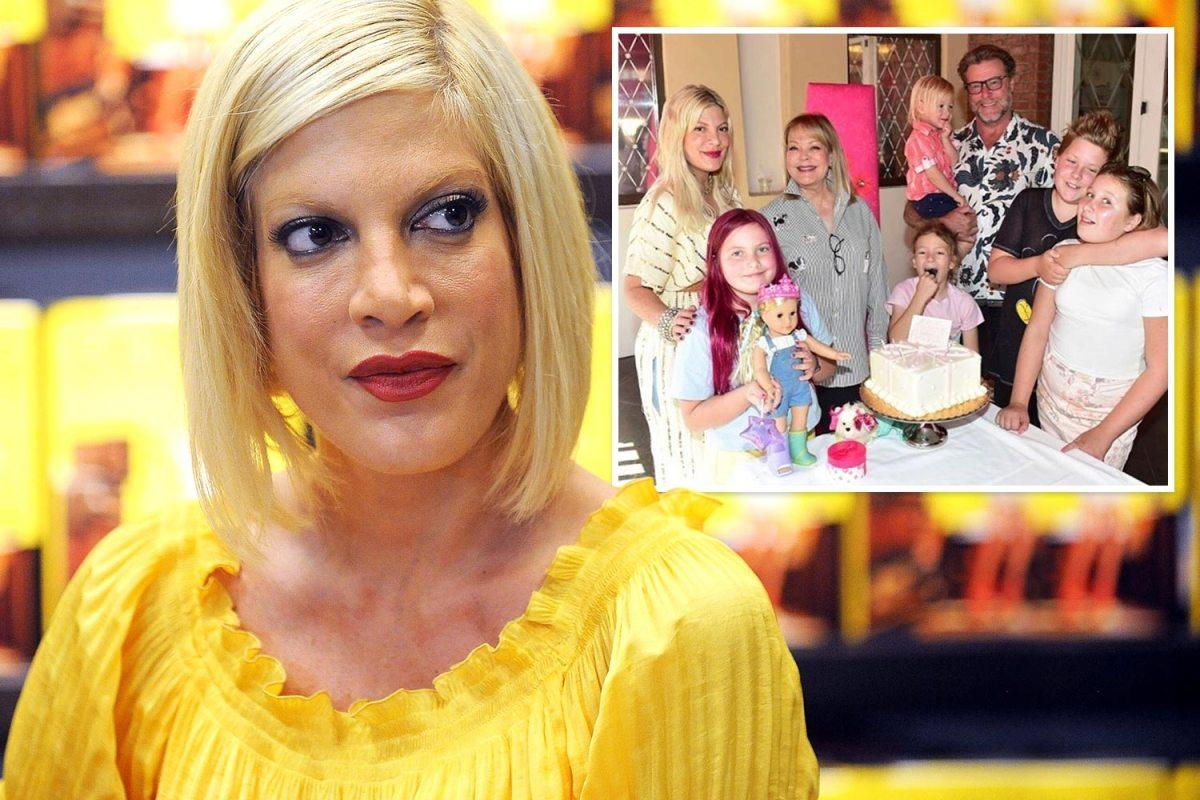 Tori Spelling Gets Candid About The Horrible Bullying Her Oldest Kids Have Experienced - Reveals They Now Struggle With Panic Attacks!
