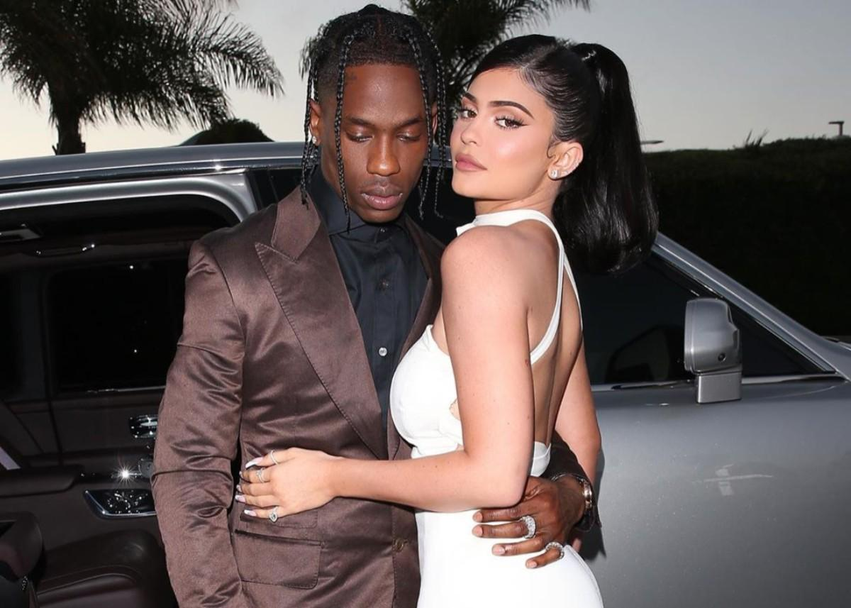 Kylie Jenner And Travis Scott Take Stormi Webster To Sky High Sports For A Day Of Trampoline Fun