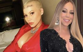 Amber Rose Poses With Mariah Carey, But Gets A Ton Of Backlash Following Her Comment