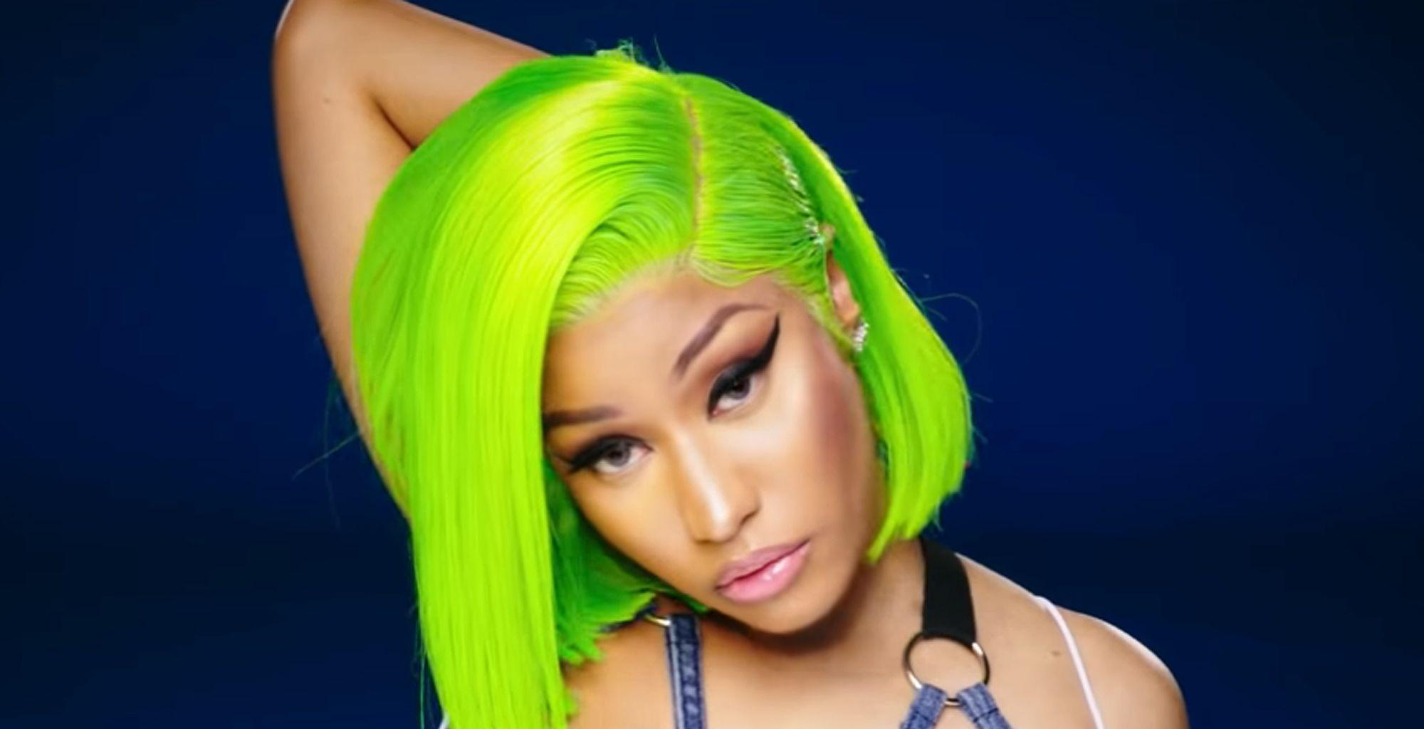 Nicki Minaj Is Spending Time In The Studio And Continues Posting Jaw-Dropping Looks