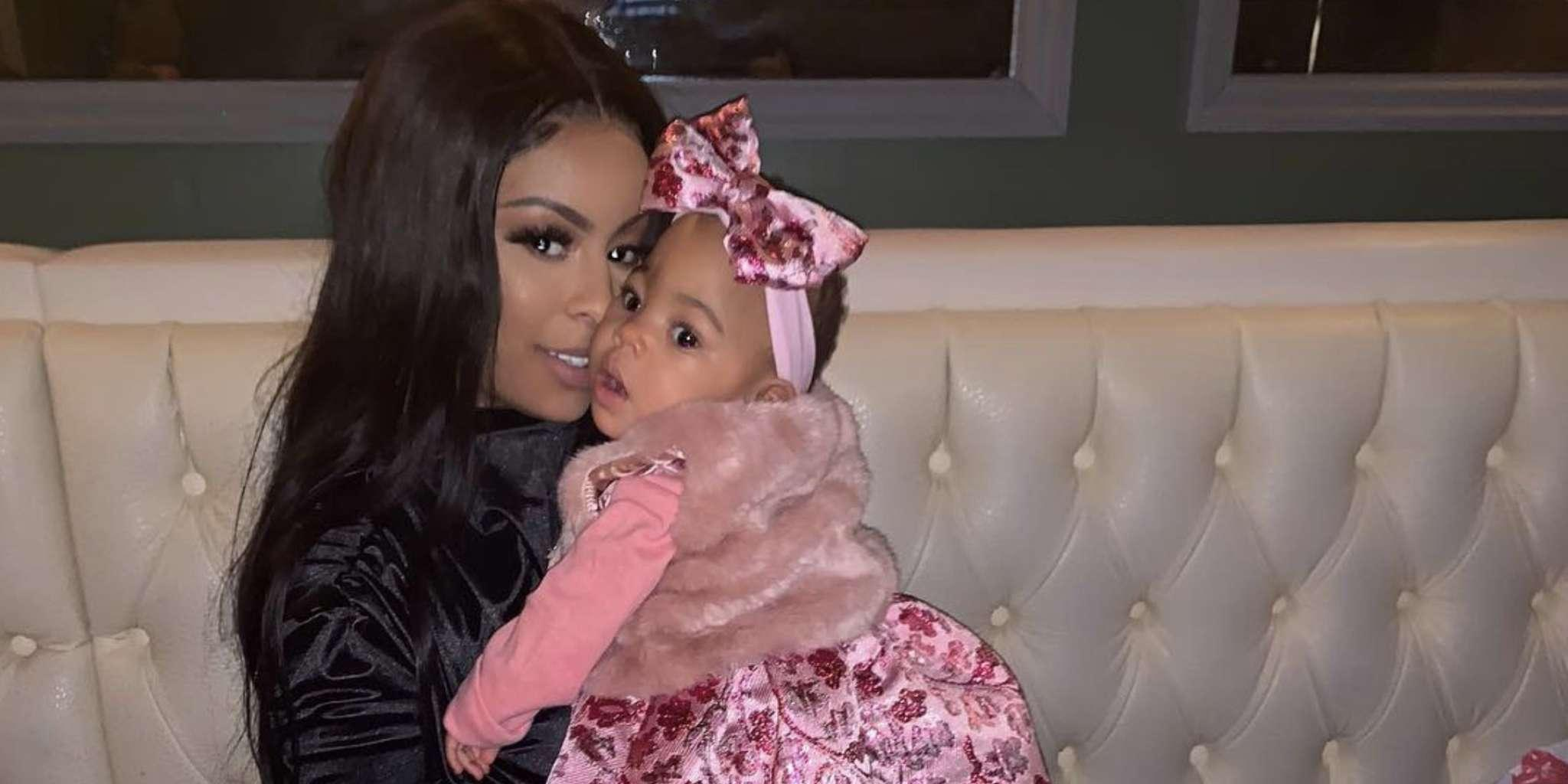 Alexis Skyy Is Proud To Be The Mother Of Alaiya Grace And Publicly Proclaims Her Endless Love For Her