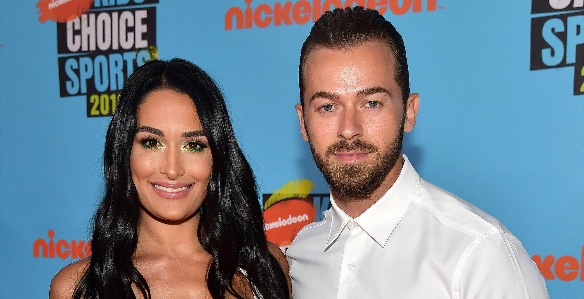 Nikki Bella Shares Pics Of Her Bare Baby Bump As She Can't Wait To Meet Her Bundle Of Joy!