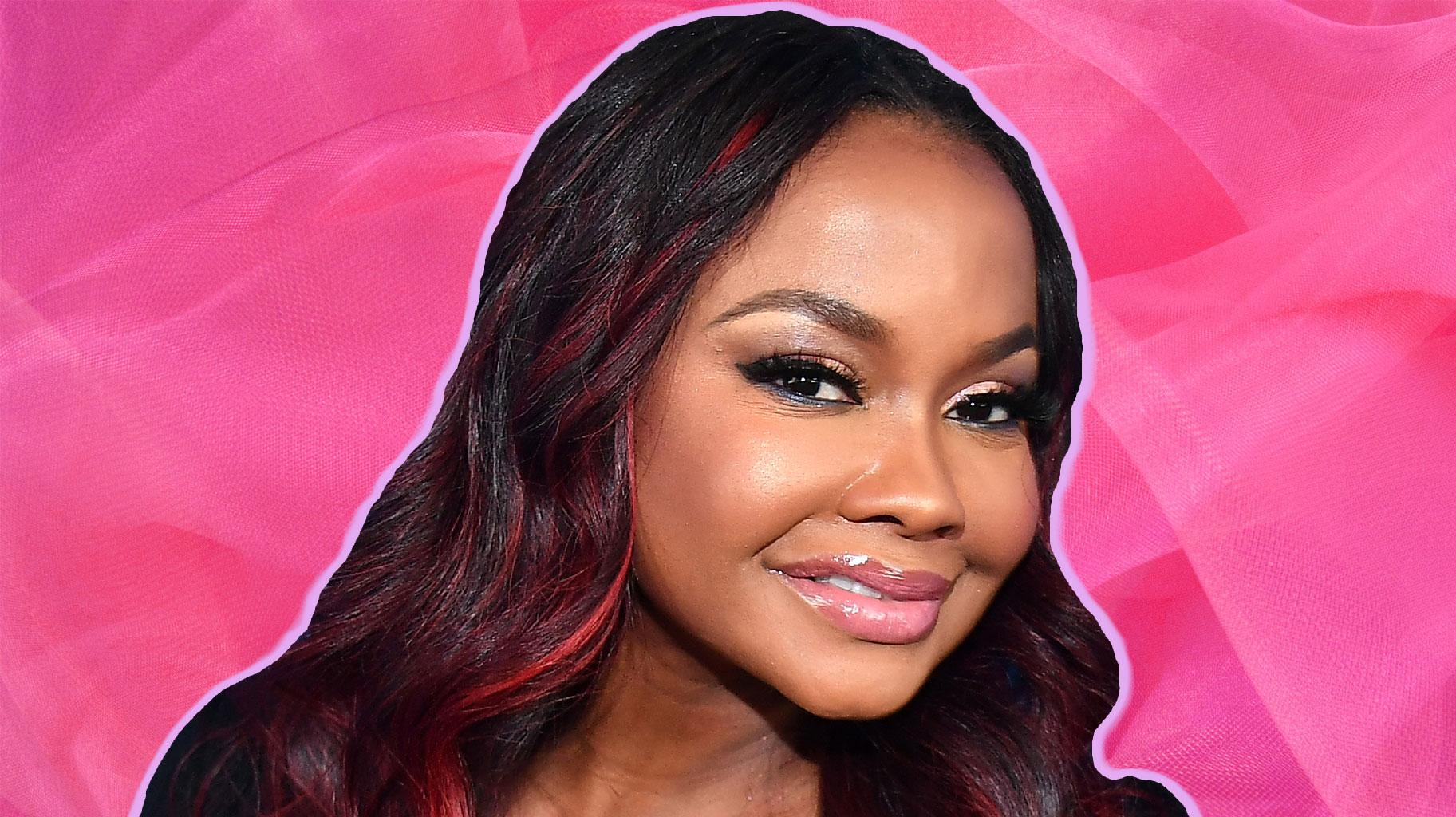 Phaedra Parks Teaches Fans How To Receive Happiness