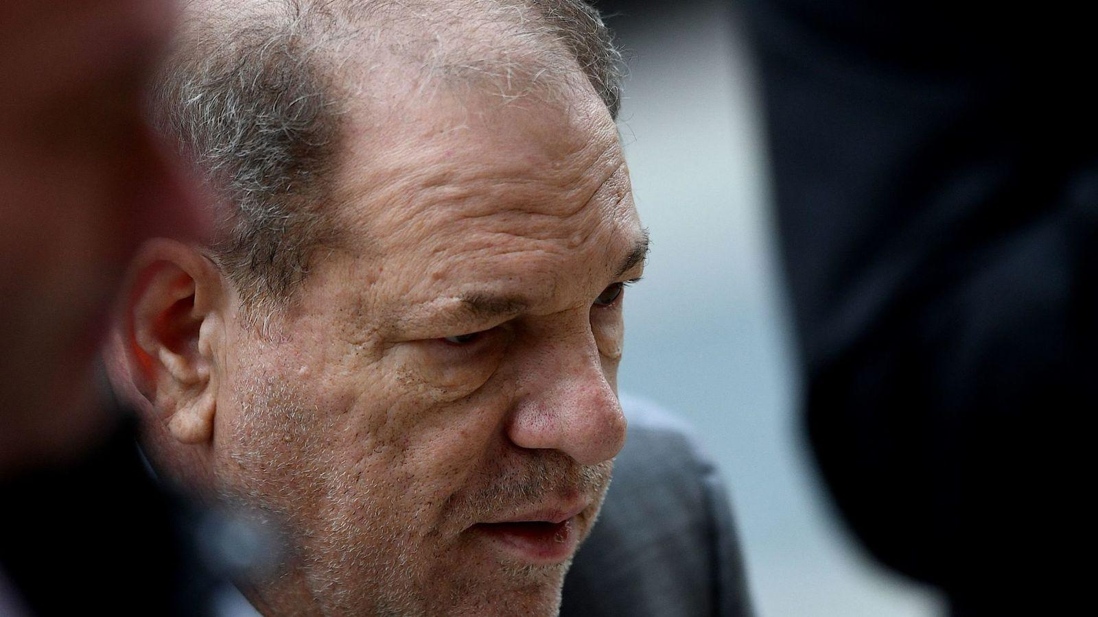 Harvey Weinstein Receives Hateful Comments Following His Hospitalization