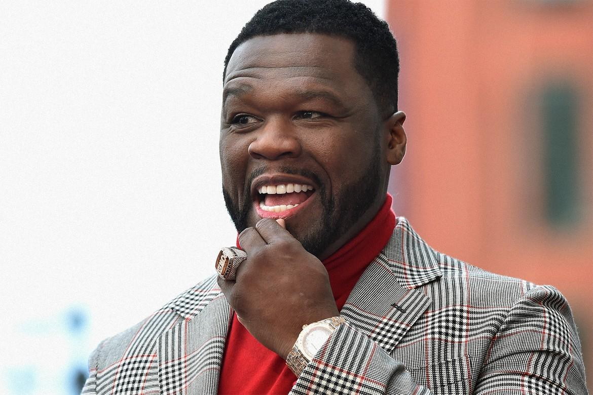 50 Cent Makes Fun Of Chris Brown's Colorful Hair And Asks Him For A Collab In The Same Post!