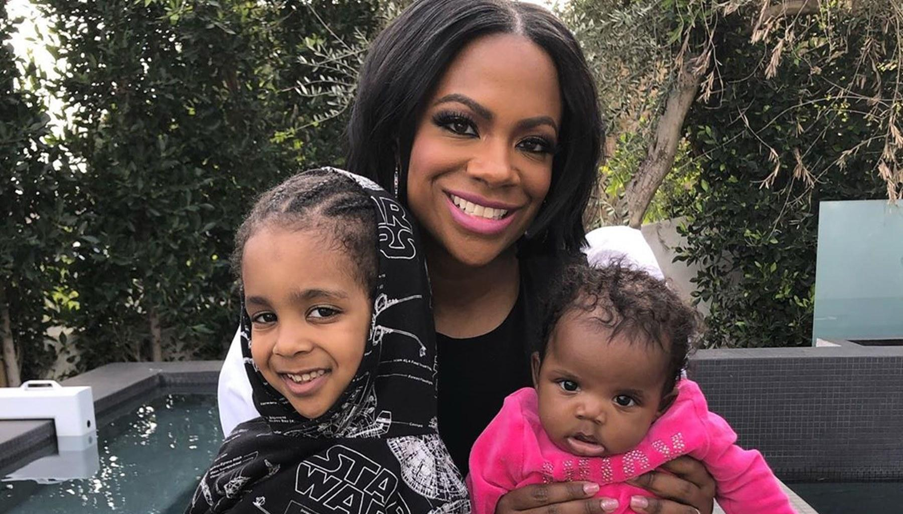 Kandi Burruss Cannot Wait To See What The Future Holds For Her Kids - See Their Sweet Photo Together