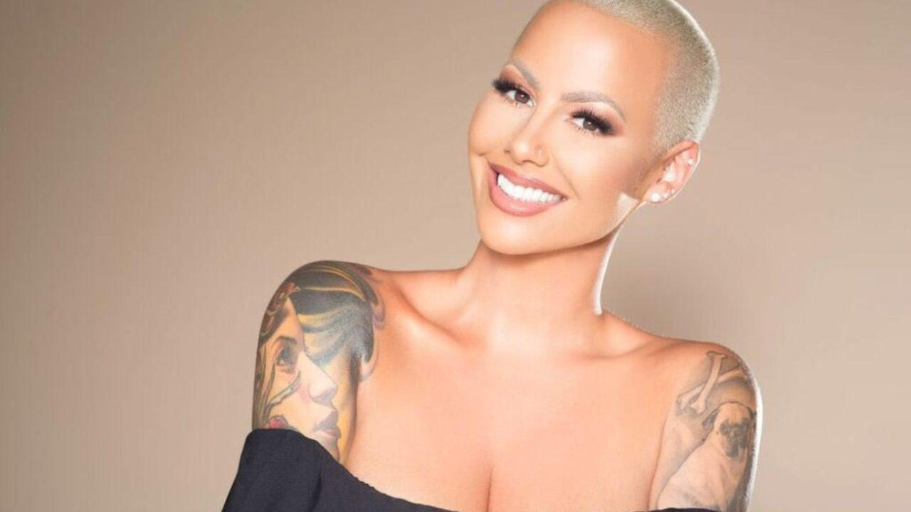 Amber Rose's Controversial Forehead Tattoos Are Gone In New Clip And Fans Are Confused!