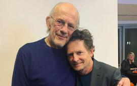 Back To The Future Stars Michael J. Fox & Christopher Lloyd Reunite For Parkinson's Disease Charity Event