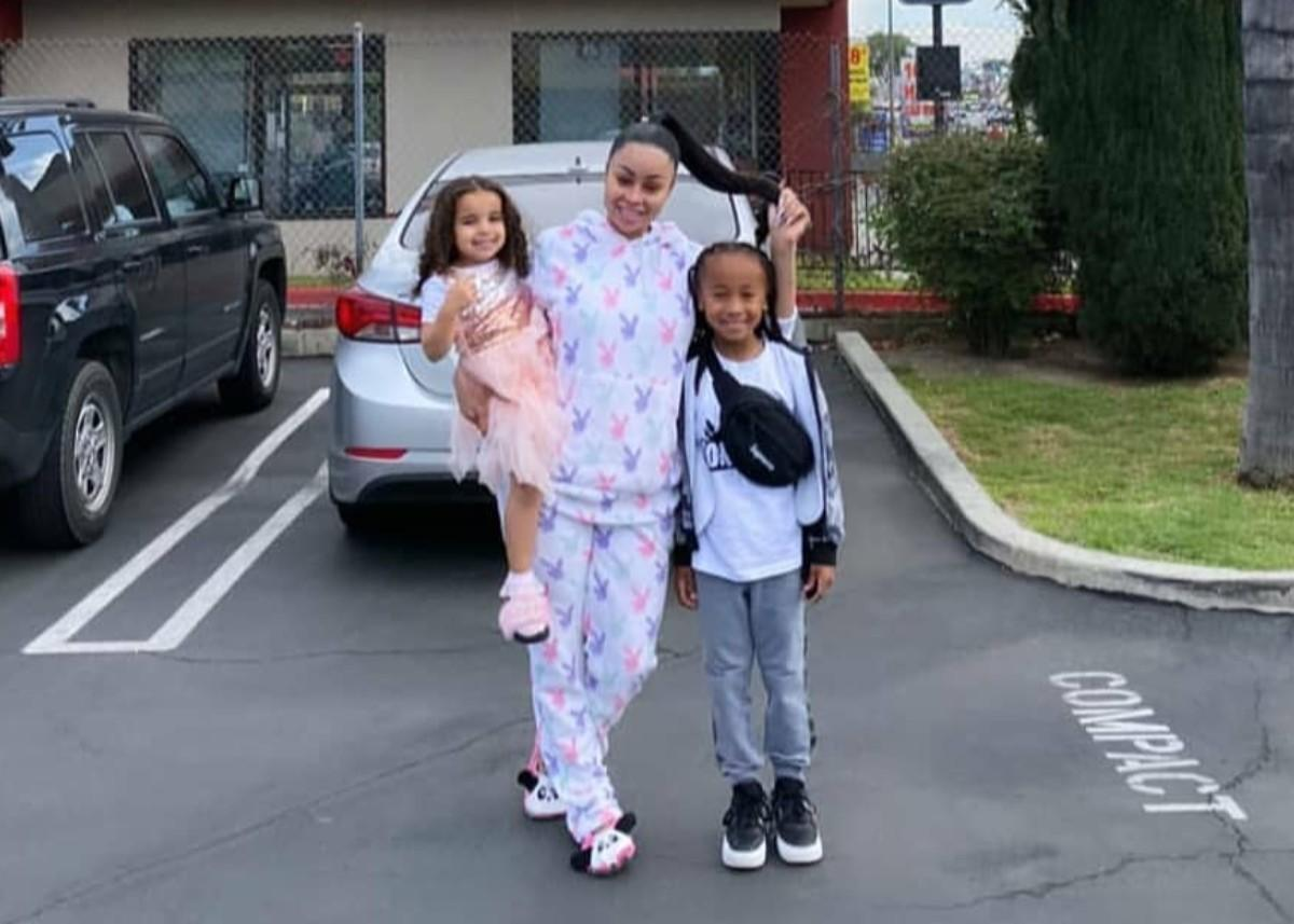 Blac Chyna Shares New Videos Of Herself Dancing With Dream Kardashian And King Cairo