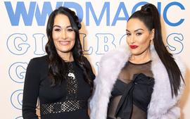 Artem Chigvintsev And Nikki Bella And Daniel Bryan And Brie Bella Talk About Baby Gender As Twins Show Off Baby Bumps