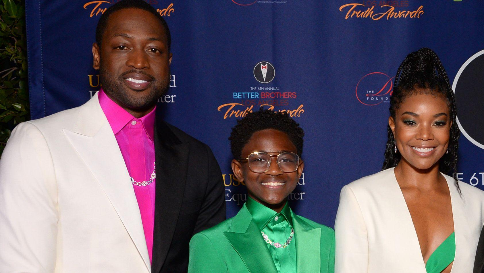 Zaya Wade Makes Her Striking Red Carpet Debut -- Dwayne Wade And Gabrielle Union Could Not Be Prouder