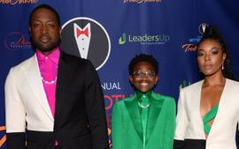 Dwyane Wade And Gabrielle Union Pull Up To The Truth Awards Together With Zaya
