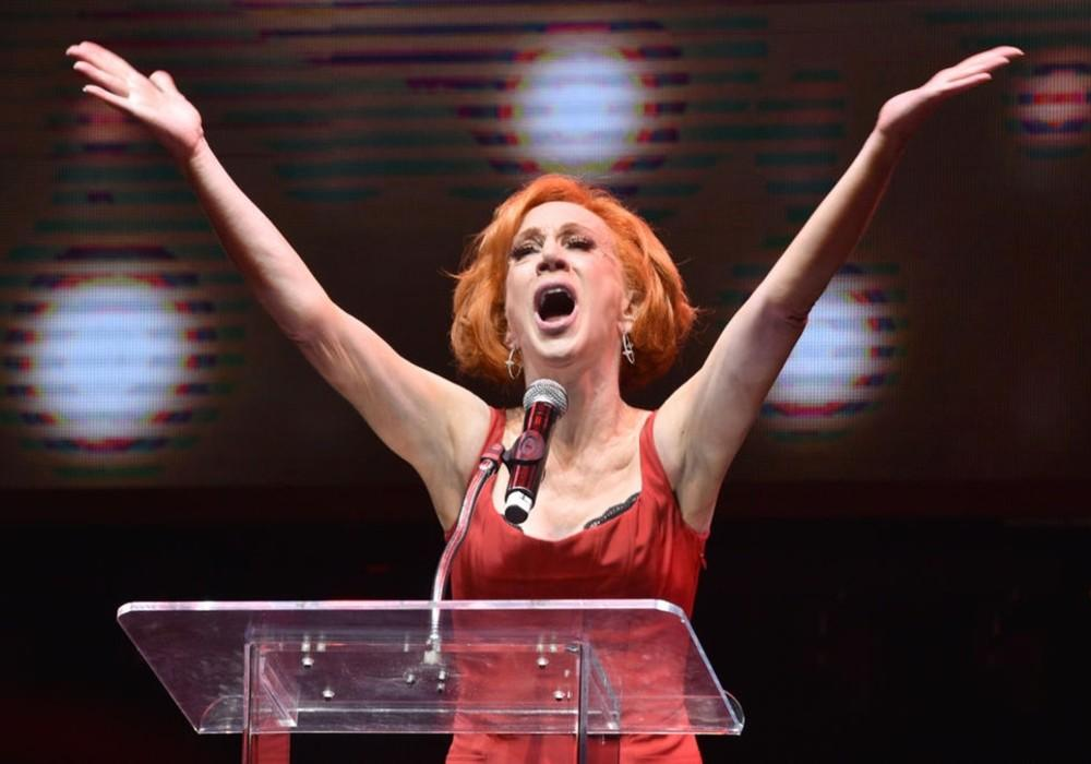 Kathy Griffin Slams President Trump While In Isolation At California Hospital Due To COVID-19 Symptoms, But Fans Aren't Buying Her Story