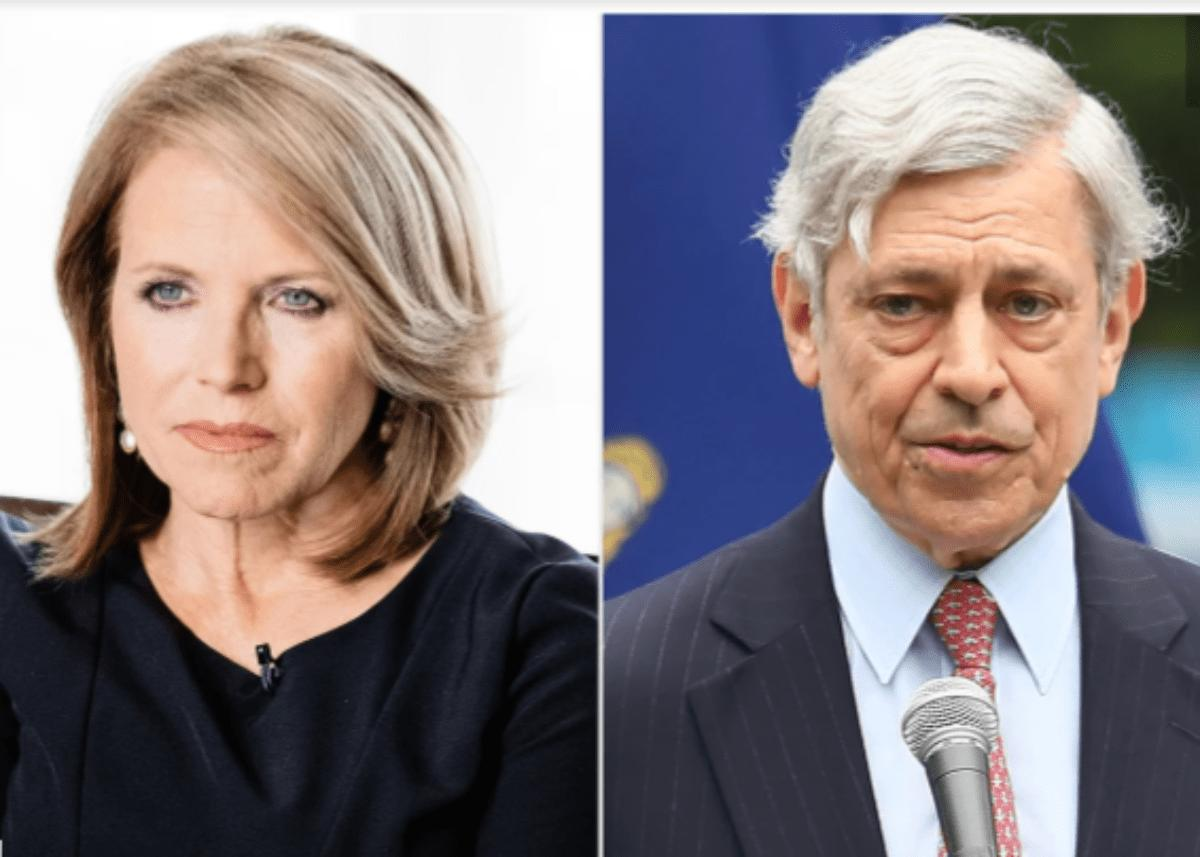 Katie Couric Self-Quarantines After Contact With Coronavirus Patient Rick Cotton
